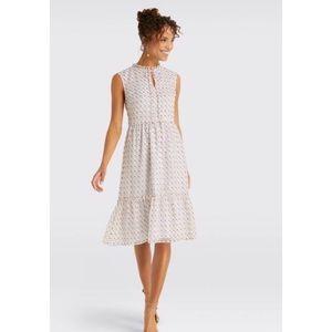 Draper James Swiss Dot Tiered Dress